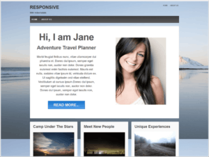 Meine Theme Entscheidung: Beispielbild vom WordPress Theme ResponsivePro